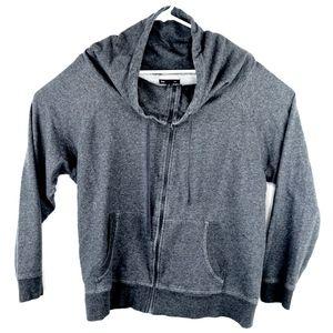 Gap Yoga Jacket XL Black Heather Cotton 211467-01